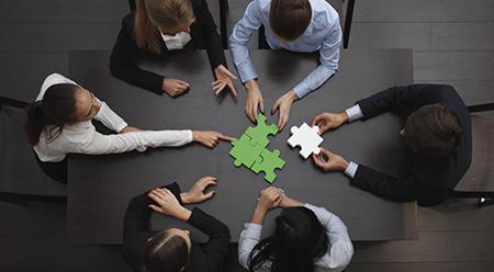 évènement entreprise team building photo une