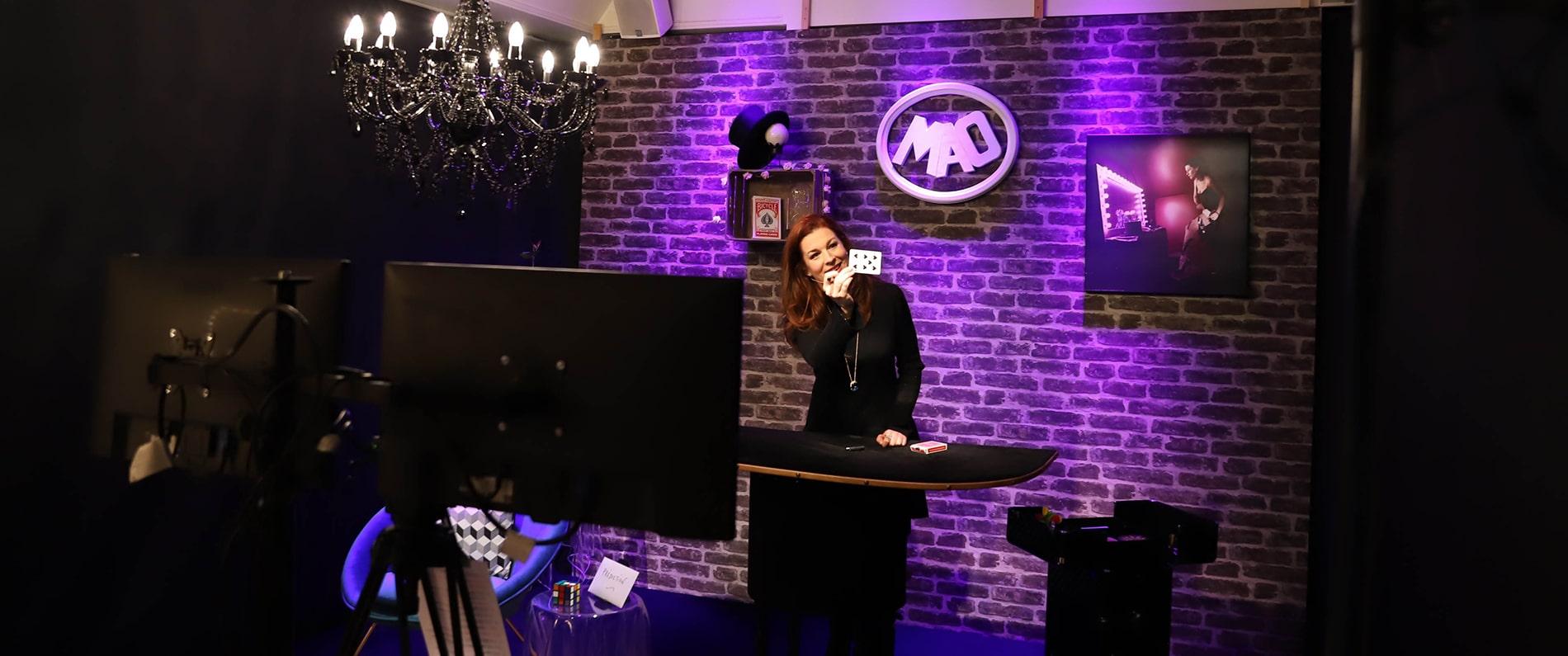 Agence evenementielle toulouse Spectacle de magie en streaming live