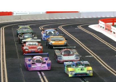 Animation Slot Racing