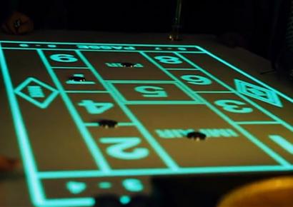 Animation entreprise casino lumineux cannes