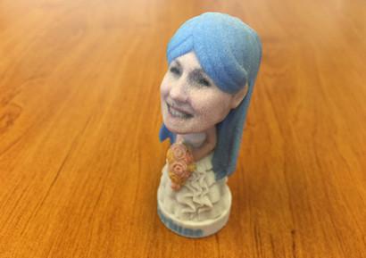 Animation impression 3D figurine