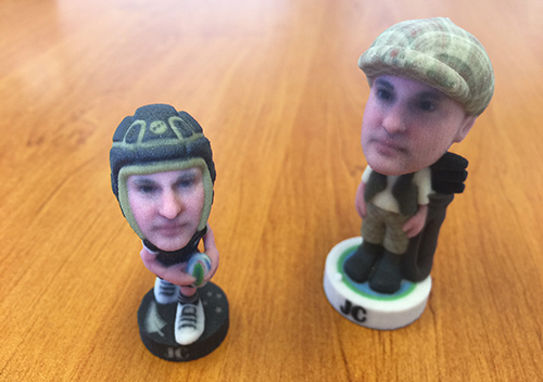 Animation impression 3D figurines