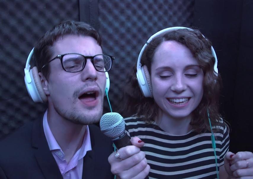 Animation karaoké entreprise chant