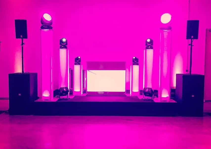 Animation musicale soirée rose