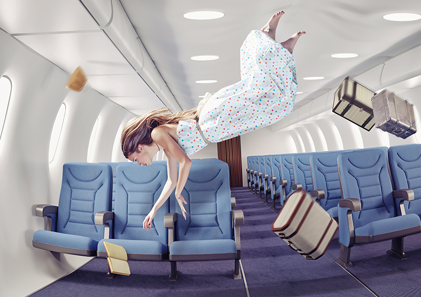 Animation photo originale entreprise avion
