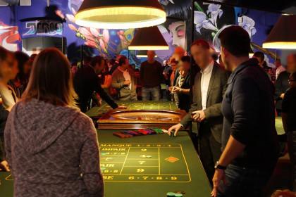 Animation soirée casino jeux