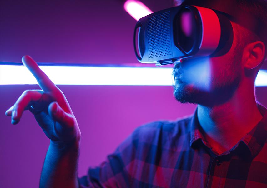 Animations réalité virtuelle casque
