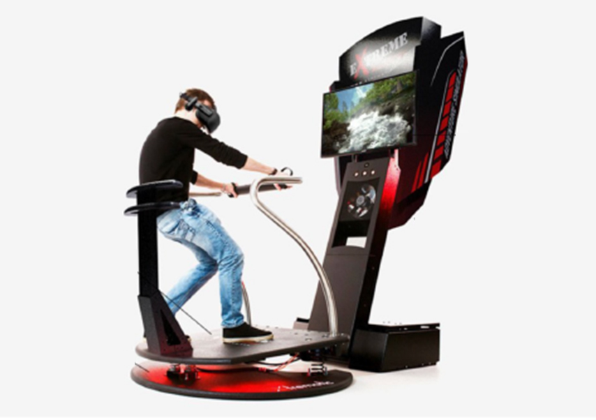 Animations réalité virtuelle machine sensation