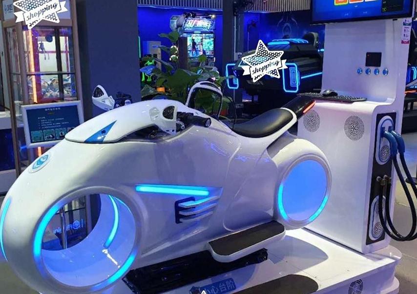 Animations réalité virtuelle moto