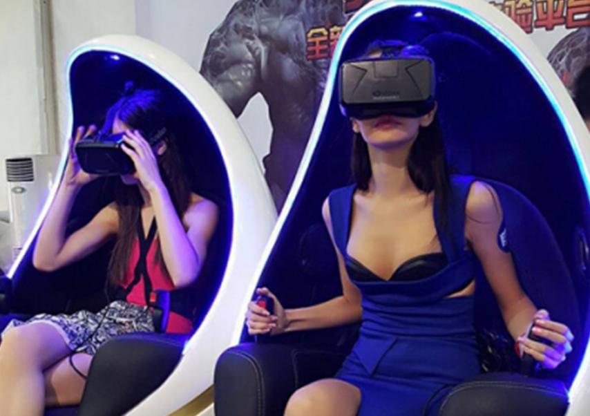 Animations réalité virtuelle oeufs