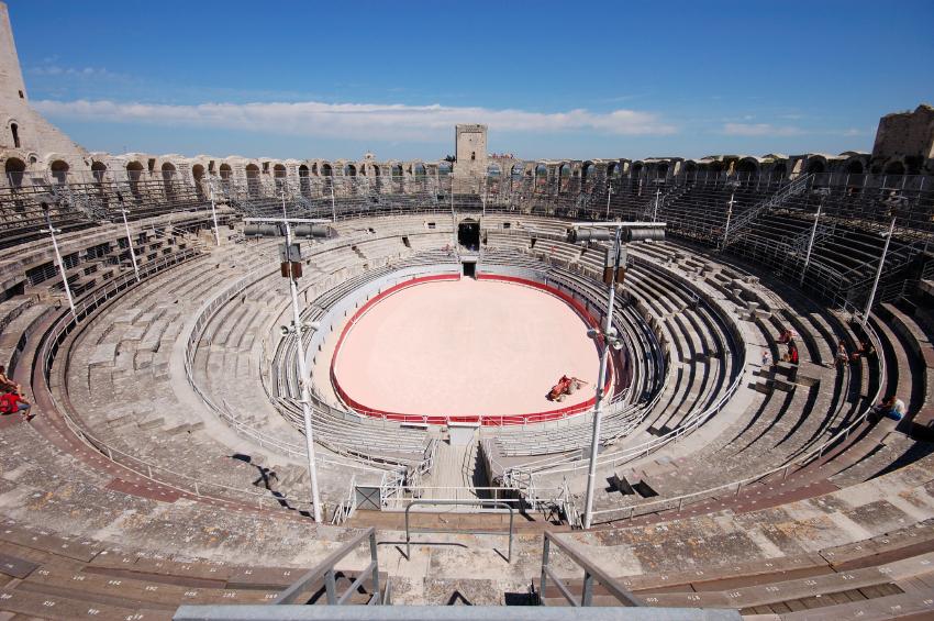 Les arenes d Arles