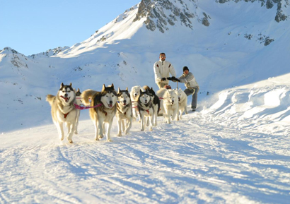 Balade traineau Andorre