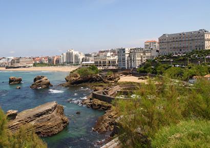 Ballade vélo a Biarritz