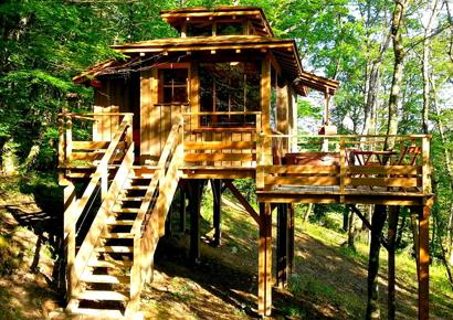 Gers week-end cabane perchée