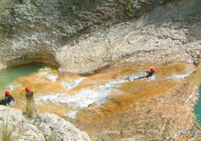 Canyoning dans les Pyrenees Catalanes