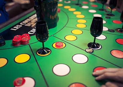 Casino des vins tables
