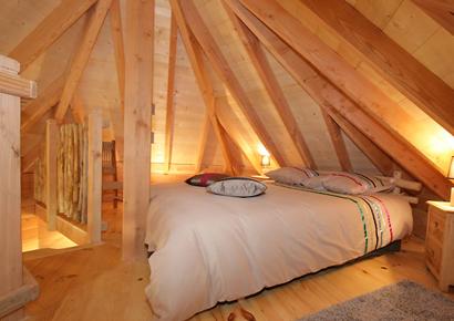 Chambre cabane arbre