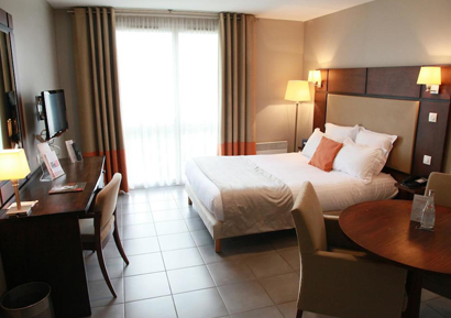Chambre hotel seminaire Toulouse