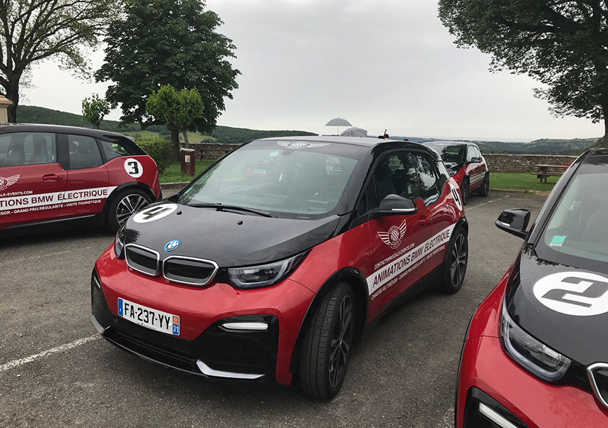 Chasse au trésor voitures électriques bmw