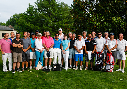 Compétition de golf amicale entreprise