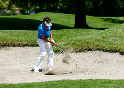Compétition de golf entreprise