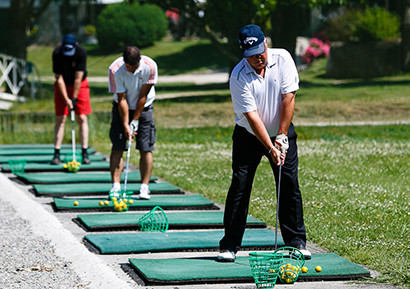 Compétition golf amicale entreprise