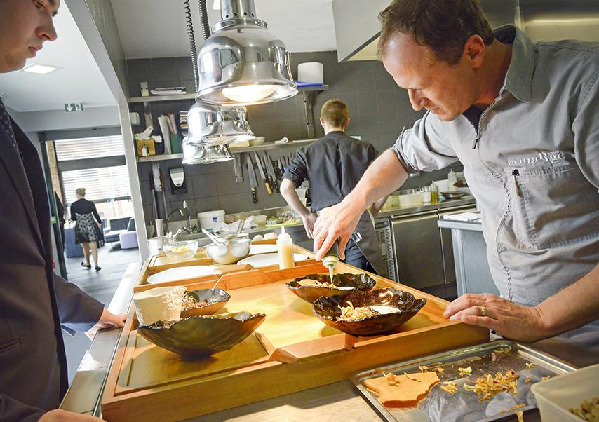 Cours de cuisine entreprise chef