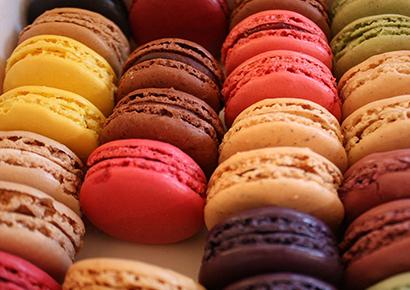 Cours preparation macarons entreprise Toulouse