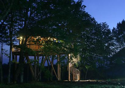 Hebergement cabane arbre dordogne
