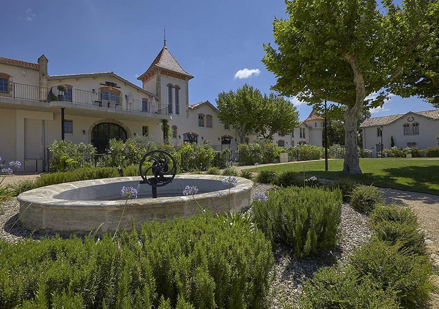Hôtel séminaire Béziers jardins
