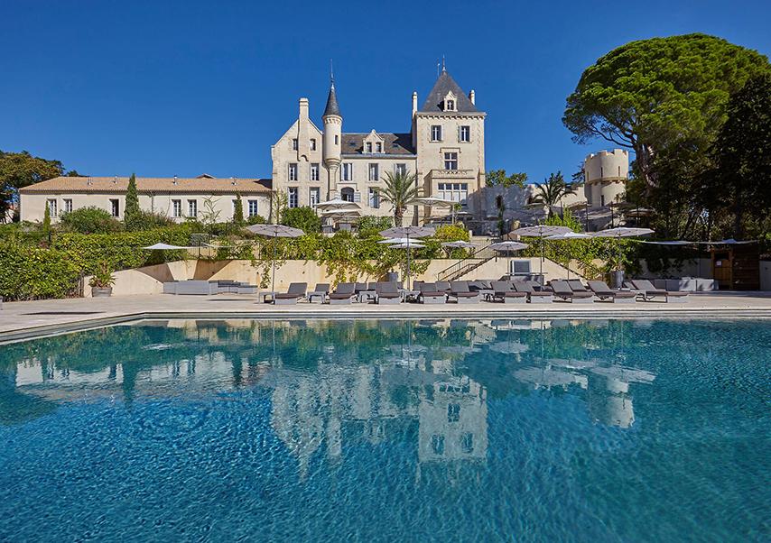 Hôtel séminaire Narbonne piscine
