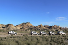 Incentive 4x4 dans le Desert des Bardenas Reales