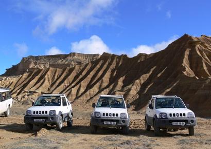 Incentive 4x4 entreprise dans le Desert des Bardenas Reales