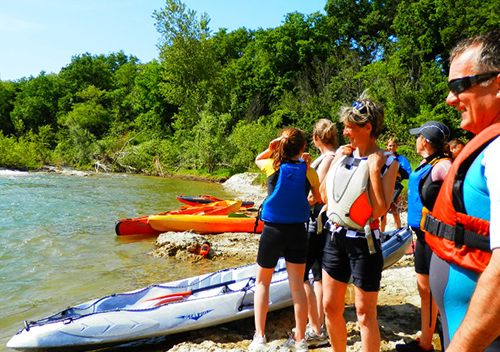 Incentive canoë-kayak entreprise