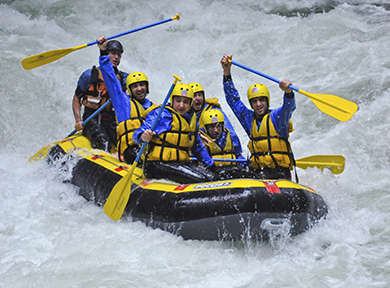 Incentive rafting