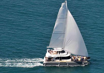 Journée entreprise catamaran