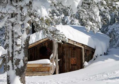 Journée neige entreprise dejeuner cabane