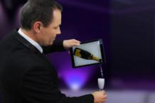 Magie numérique champagne