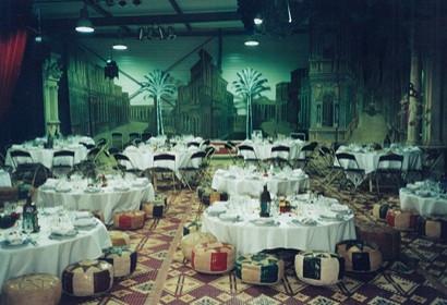 Oriental business reception