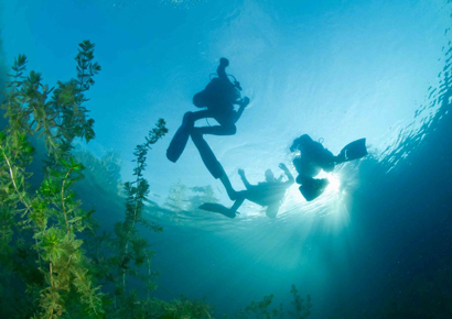 Pyrenees Orientales : Baptême de plongée