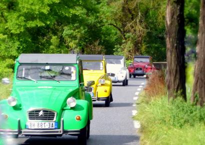 Rallye 2cv villages de france