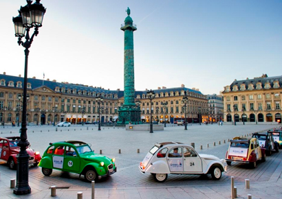 Rallye en 2cv paris cannes