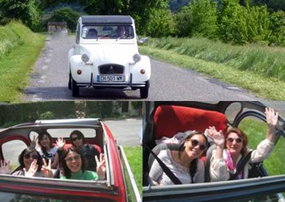 Rallye en 2cv villages de france