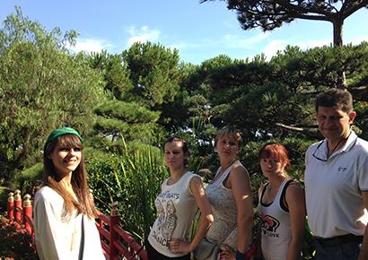 Rallye urbain à Monaco Jardins Japonais