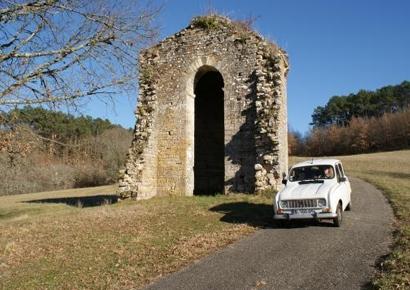 Rallye voiture anciennes Dordogne