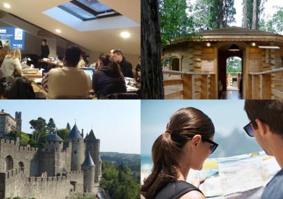 Séminaire cabane dans les bois et chasse au trésor à Carcassonne