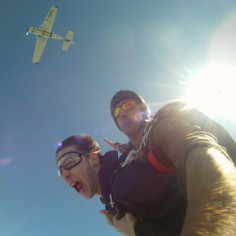 Saut en parachute Perigord