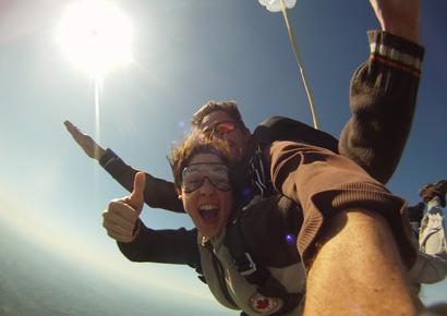 Saut en parachute dordogne