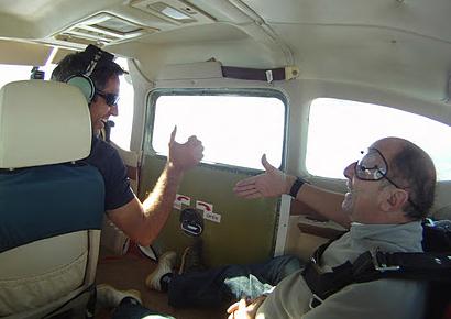 Saut en parachute tandem Perigord