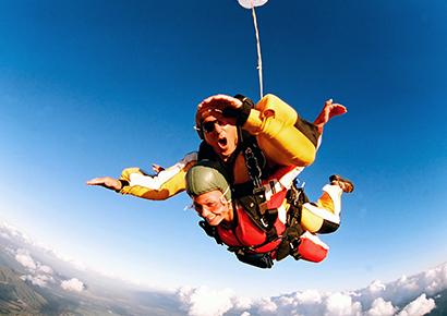 Saut en parachute tandem dordogne